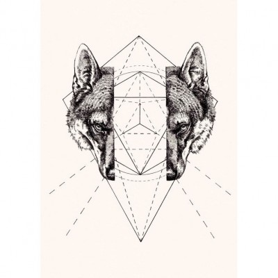 II.XXVI.MMXIV Wolf By Peter Carrington