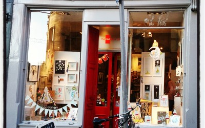 That Festive Feeling! The Red Door Gallery Christmas Windows featuring Hannah Botma…