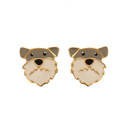 Inka schnauzer earrings