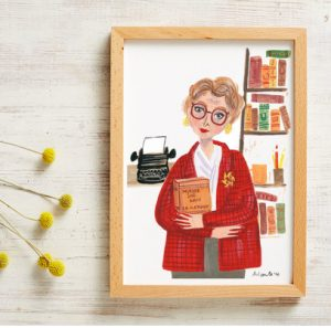 murder she wrote, detective, angela lansbury, investigator, art print, and smile, prin