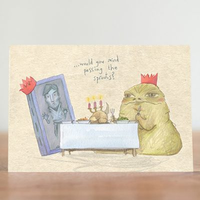 Jabba sprouts card