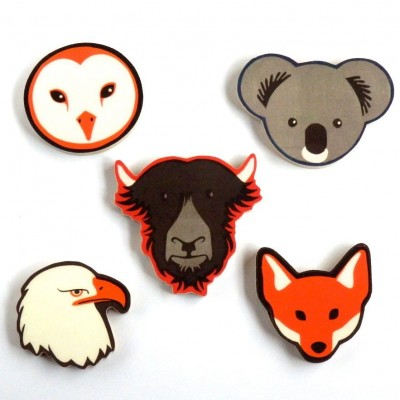 Badges & Brooches