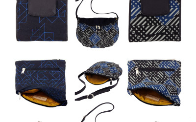 Autum/Winter 2013/14 Geo, Neon, Lines screenprinted on canvas bags… be there first!