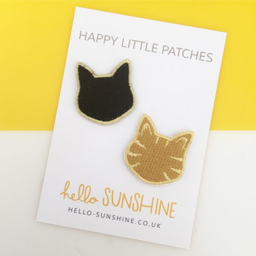 kitty patches by Hello Sunshine