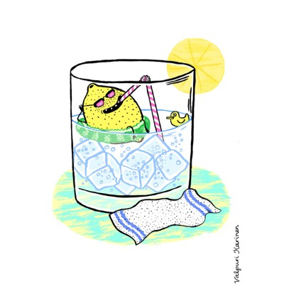 gin and tonic, valpuri karinen, hitchhikers guide to the galaxy
