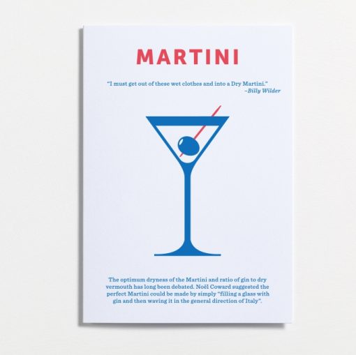 Martini, if it's good enough for Bond, Shaken not stirred!