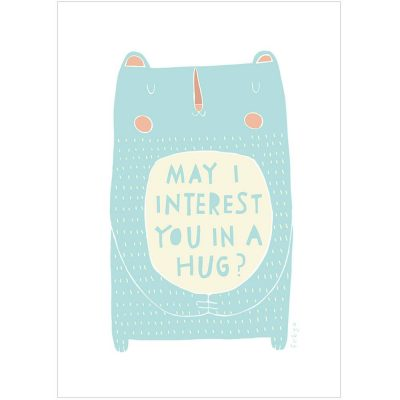 May I Interest You in a Hug