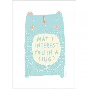 May I interest you in a hug print by Freya