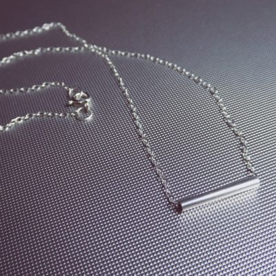 Modern Alchemy Tube Necklace