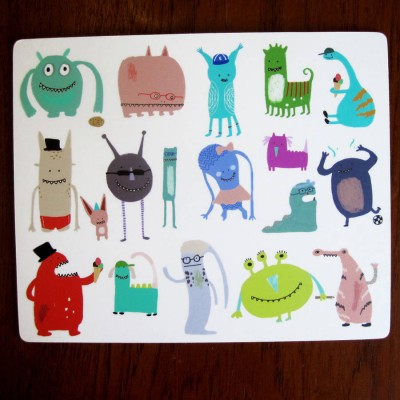 Monster placemat