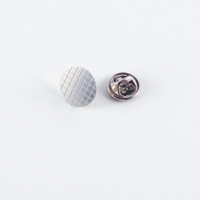 Nickel Silver Grid Tie Pin