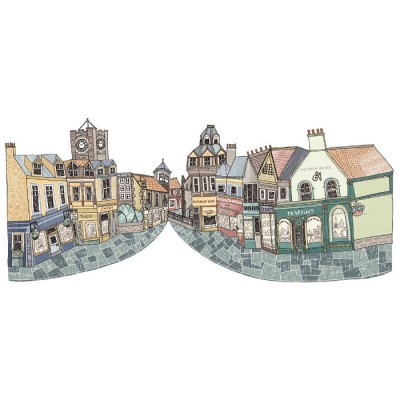 North Berwick  High Street by Eilidh Muldoon