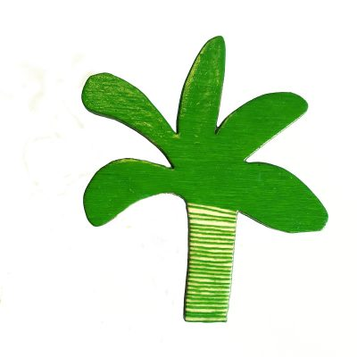 Palm Tree Brooch 2 by Louise Smurthwaite WEB