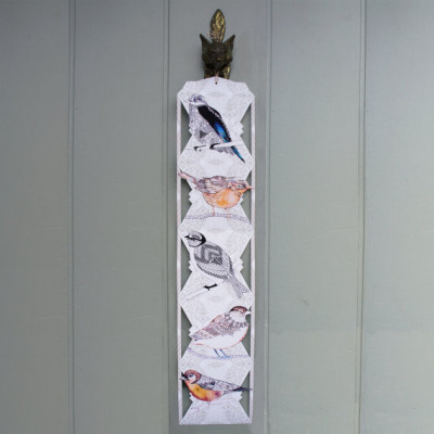 Paper Bird Hanging Decoration