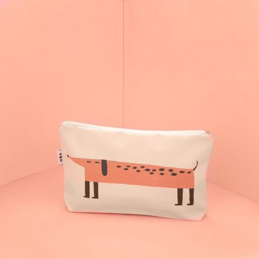 Mateo the Dog Multipurpose Pouch by Mon Collection