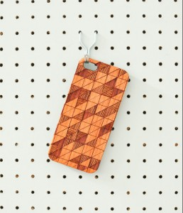 Prism phone case on peg board by The Joy Collection