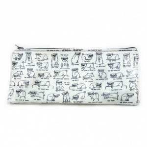 Pug Positions Pencil Case