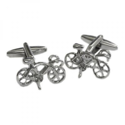 Racing Bike Cufflinks