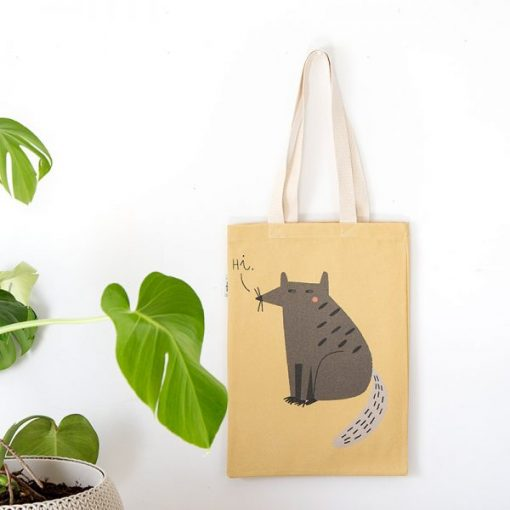 Alfredo the Raccoon Tote Bag by Mon Collection