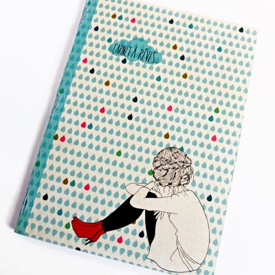 Red Boots Notebook by Akabe