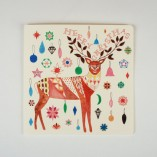 Reindeer and Baubles Card