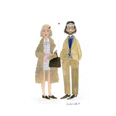 Royal Tenenbaums Portrait by And Smile
