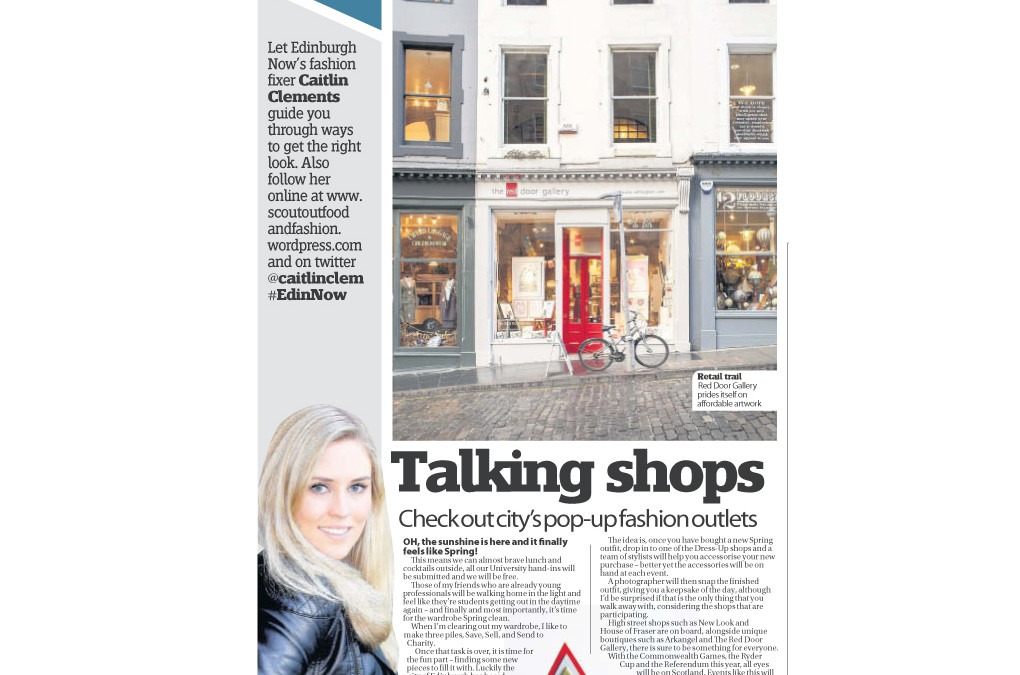 Have your look styalised & snapped today @GrassmarketEdin @caitlinclem #edinstyle #EdinNow