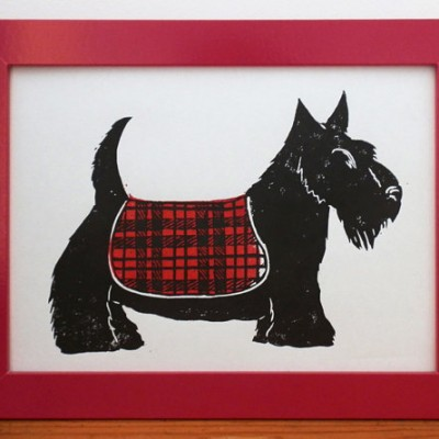 Scottie Dog Red