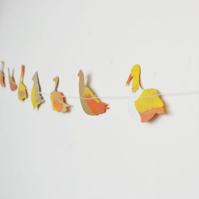 Sea Birds Garland by East End Press at The Red Door Gallery