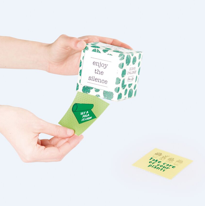 Slow Life Challenge Cube by Doiy Design