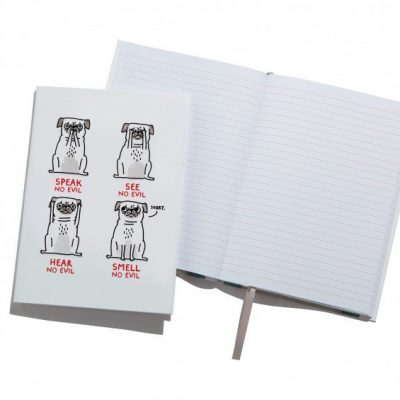 Here no Evil Notebook by Gemma Correll