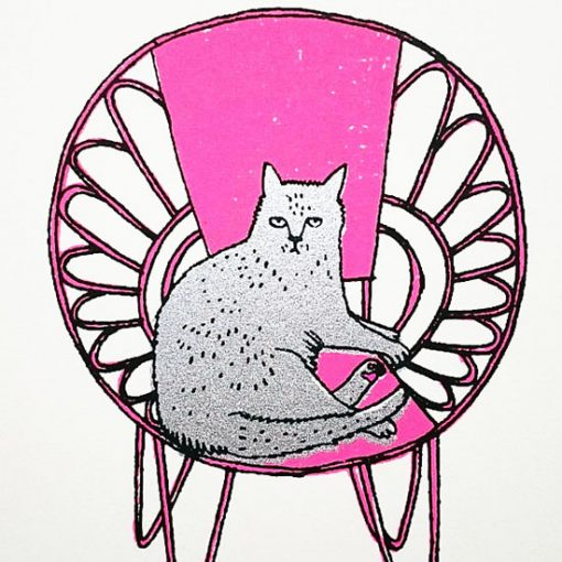 Some Cats Prefer Not To Sit On Mats by Charlotte Farmer