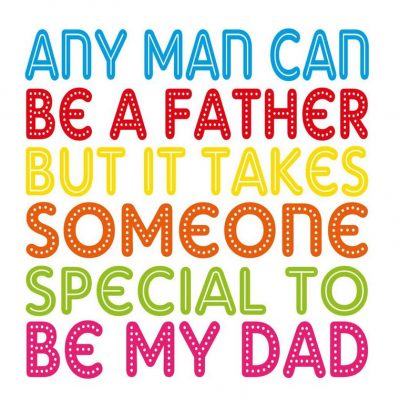 Special Dad Card by allihopa at the red door gallery