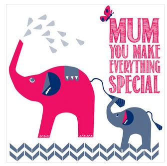 Special Mum Card by Allihopa