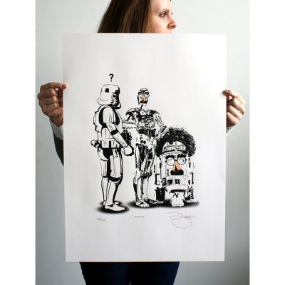 Square - Disguise print by barry d bulsara - Copy