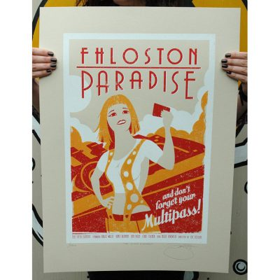 Square - Fhloston Paradise The 5th Element Print by Barry d Bulsara