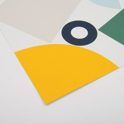 Stack limited edition Screen Print by Tom Pigeon