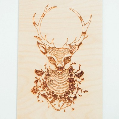 Stag Art Board