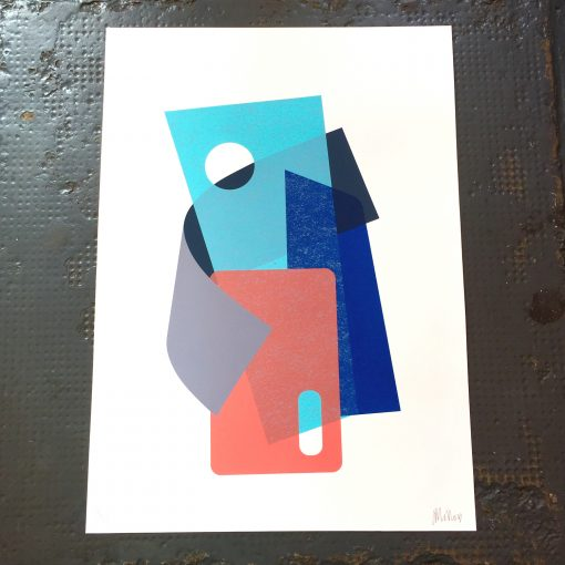 Sweep 3 Ltd Edition Screen Print by Josie Molloy