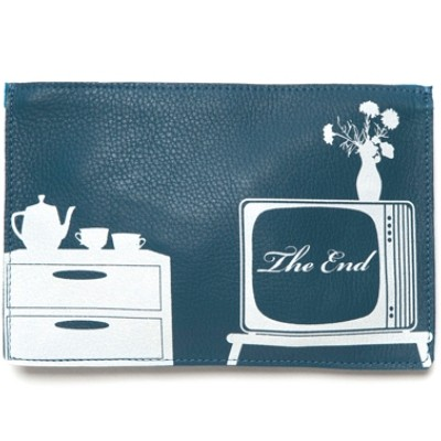 TV Time Faded Blue