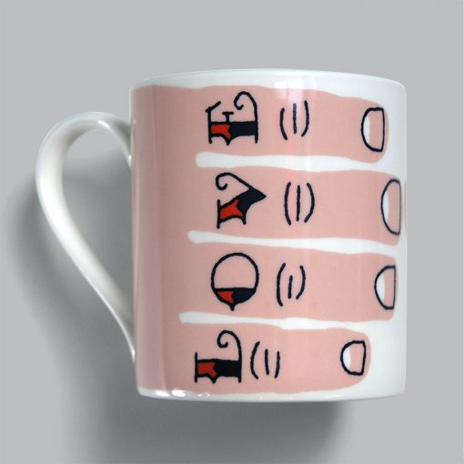 Tattoo Lovers Love Tea, we love these new mugs from Stuart Gardiner