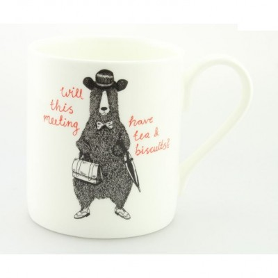 Tea and Biscuits Mug by Jolly Awesome