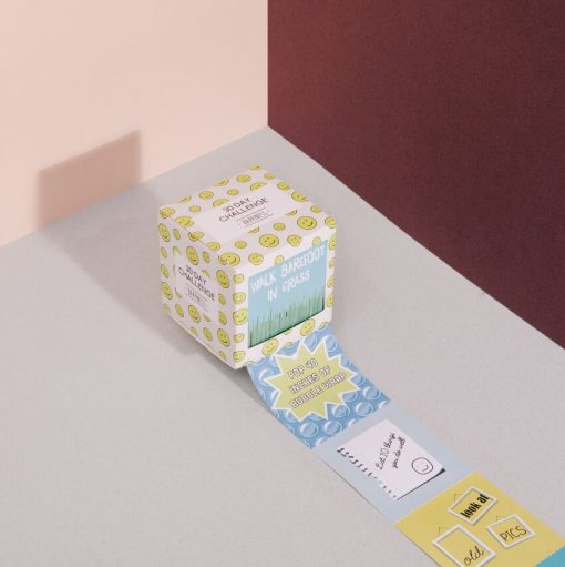 Happiness Challenge Cube by DOIY Design
