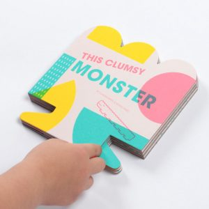 this clumsy monster picture book, great for kids, it