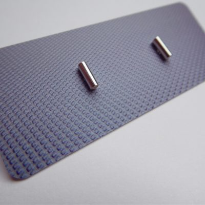 Mini Tube Studs by Modern Alchemy
