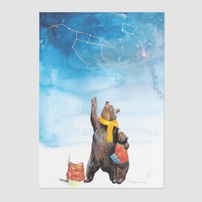 Ursa Major Ursa Minor A2 Print