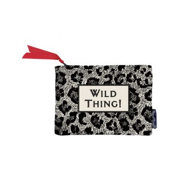Wild Thing Screen Printed Purse at the red door gallery