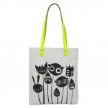 Will Broome x Kate Sheridan  Face Stalks Tote