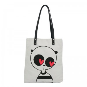 Will Broome x Kate Sheridan Heart Eyed Panda Tote