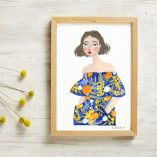 Willow by And Smile Studio - A Beautiful Colourful Digital Print